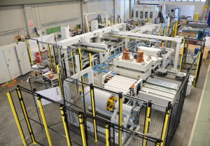 Automatic sheet processing & twin head ultrasonic welding cell - SP UWC