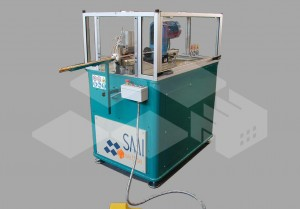 End-forming unit with spinning tool UDR 22