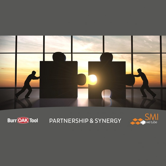 BURR OAK TOOL & SMI PARTNERSHIP - official announcement